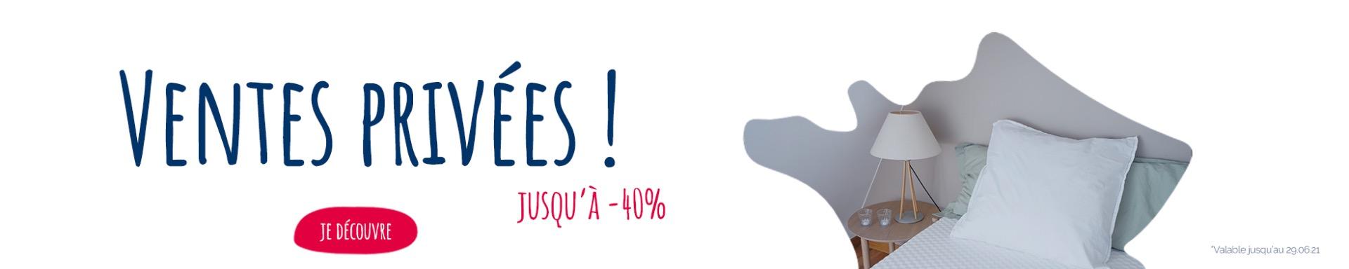 French Days sur les matelas Adulte et Senior jusqu' 40% et 20% sur les enfants, bébé, sommier, surmatelas et accessoires