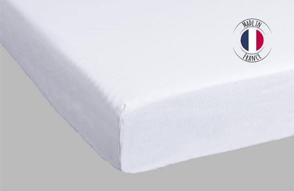 Protège matelas molleton Made in France