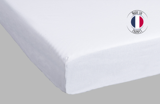 Protège matelas Adulte 100% coton Made in France