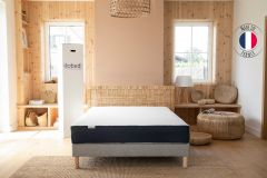 Un matelas sur son sommier Ilobed - 100% made in France
